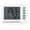 Thermo-Hygrometer With Clock and Weather