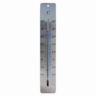 Indoor And Outdoor Metal Thermometer